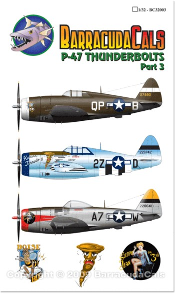 P-47 Thunderbolts - Part 3 - 1/32 Scale