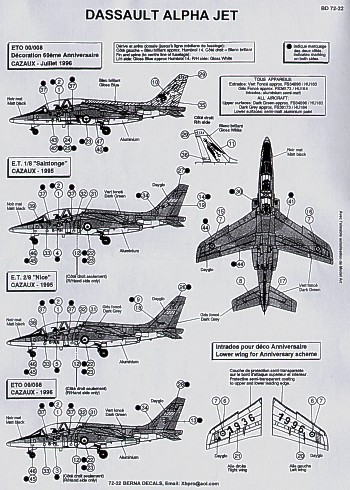 Aircraft decals (military)