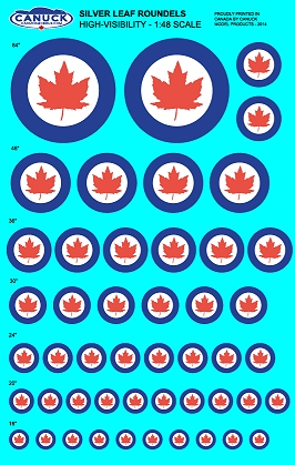 CANUCK DECALS
