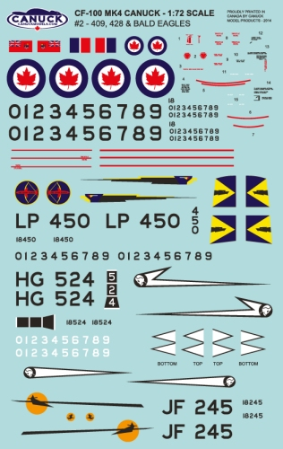 canuck decals172 scale