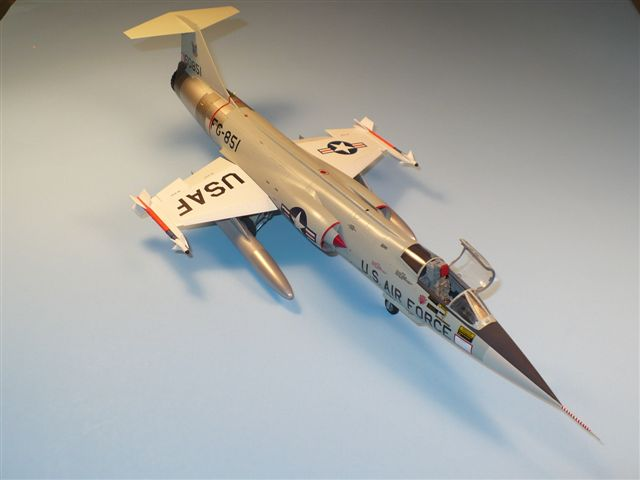 Hasegawa 1/48th F-104C converted to a F-104A