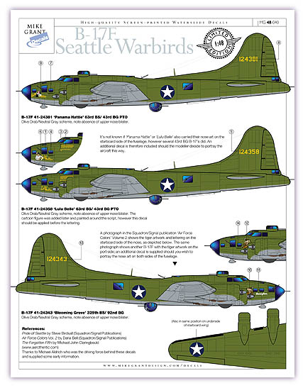 B-17F 'Seattle Warbirds'